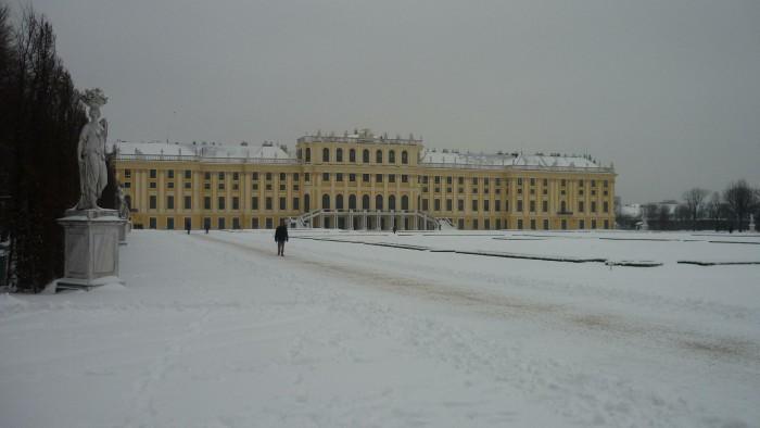 Schönbrunn im Winter